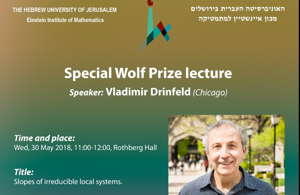 Wolf Prize lecture 2018