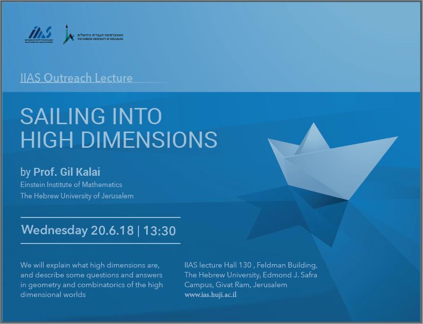 IIAS Outreach Lecture: Prof. Gil Kalai
